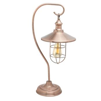 "24"" Edison-Style Table Lamp"