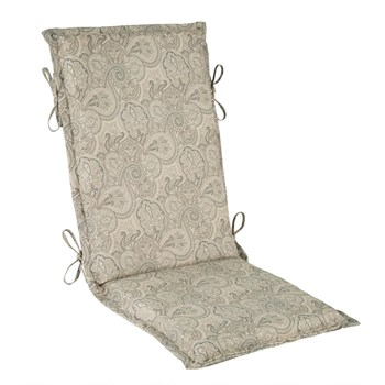 Traditions by Waverly® Paisley Indoor/Outdoor Hinged Chair Pad