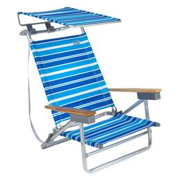 Striped Canopy 5-Position Sand Chair