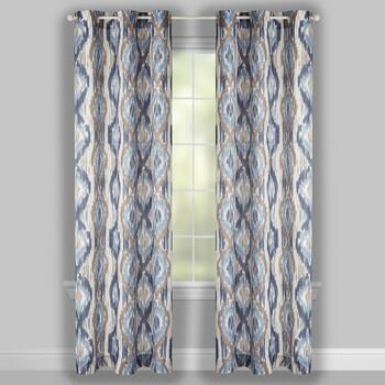 "84"" Crawford Santia Grommet Window Curtains, Set of 2 view 2"