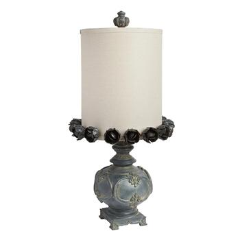 "31"" Flower Shade Table Lamp"