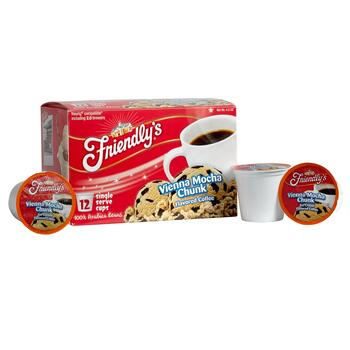 Friendly's® Vienna Mocha Chunk Flavored Coffee Pods, 6 Boxes