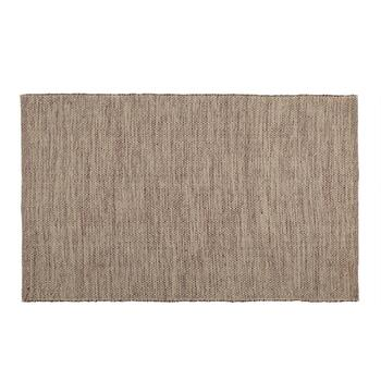 "The Grainhouse™ 27""x45"" Solid Beige Chevron Woven Accent Rug"