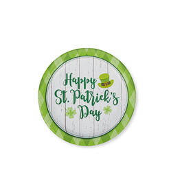 "Happy St. Patrick's Day Lucky Day 7"" Paper Plates 40-Count view 1"