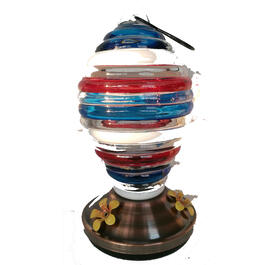 Red, White, & Blue USA Bird Feeder view 1