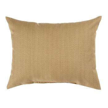 Solid Brown Indoor/Outdoor Oblong Pillow