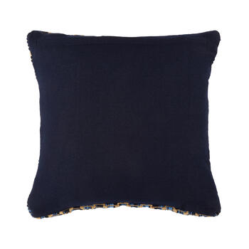 Navy/White Starfish-Shaped Indoor/Outdoor Throw Pillow view 2