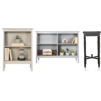 Accent Tables & Bookcases