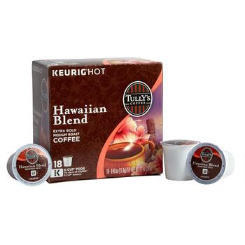 Tully's Coffee® Hawaiian Blend Coffee Pods, 4 Boxes
