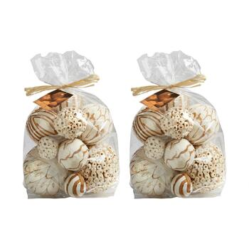 Cotton-Scented Potpourri Bags, Set of 2