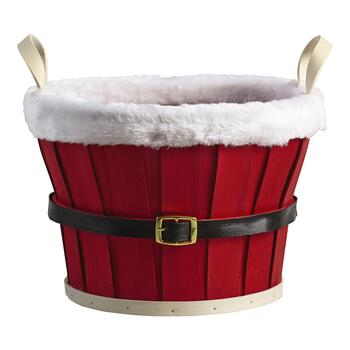 Santa Belt Basket view 2