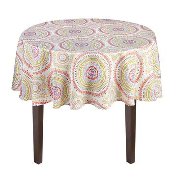 Circle Stitch Printed Tablecloth view 2