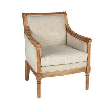 Wheat Country Accent Chair view 1