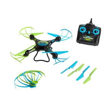 Sharper Image™ Green/Blue Lighted Drone
