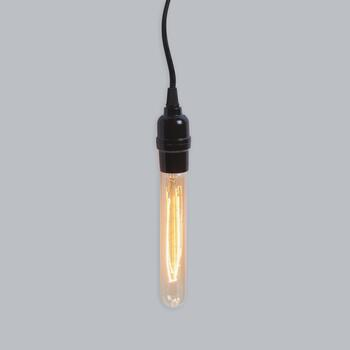 "10"" Long Edison Pendant Light"