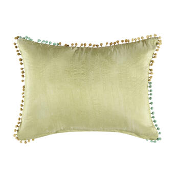 """Spring"" Oblong Throw Pillow view 2"