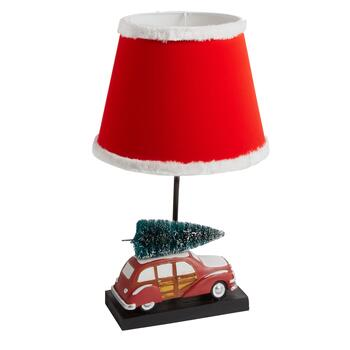 "22"" Vintage Car with Tree Table Lamp"