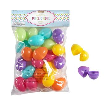 144-Count Pastel Plastic Easter Eggs
