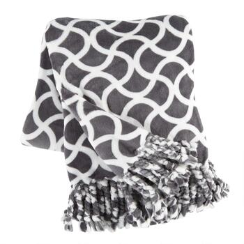 Evolution™ Geo Tassel Throw Blanket