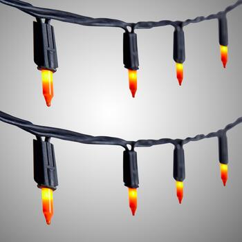Colored Halloween String Lights, Set of 2