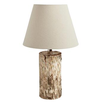 "19.25"" Birch Log Table Lamp"