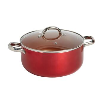 5-Quart Stainless Steel/Copper-Lined Nonstick Dutch Oven