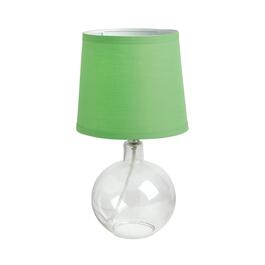 "14.5"" Glass Bubble Table Lamp"