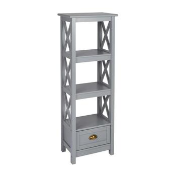 "48"" 4-Shelf X-Sided Bookcase"