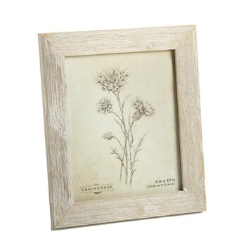 "The Grainhouse™ 8""x10"" Flowers Barnwood Framed Art"