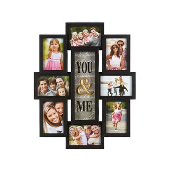 "15.5""x22"" ""Family is Forever"" 8-Opening Photo Frame Wall Collage"