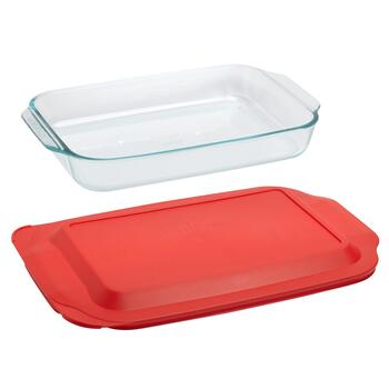 Pyrex® Basics™ 3-Qt. Glass Baker with Lid