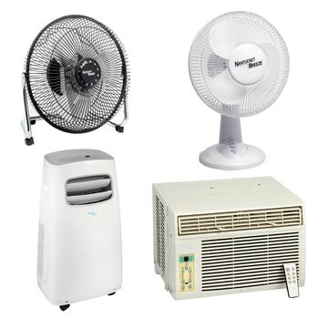 Fans & Air Conditioners