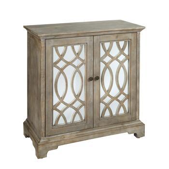 The Grainhouse Trade 2 Door Decorative Mirrored Cabinet