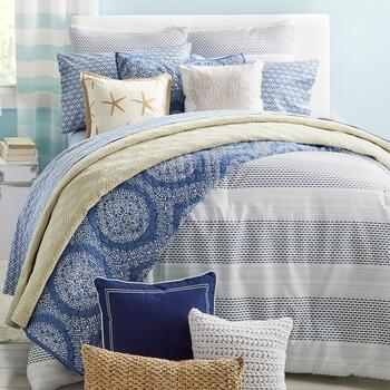 Coastal Living Seascapes™ Washed Quilts