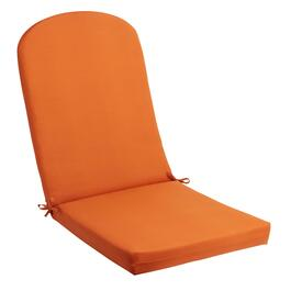 Solid Tangerine Indoor/Outdoor Adirondack Chair Pad
