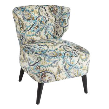 Cristen Paisley Upholstered Accent Chair