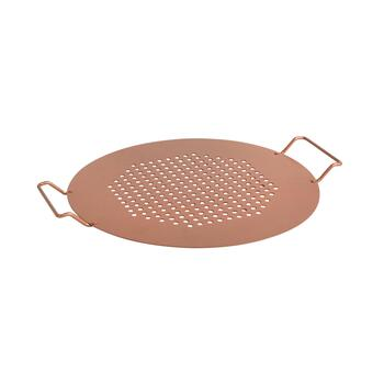 "Midwest Grill Co.™ 15.25""x18.5"" Nonstick Copper Pizza Grilling Pan"