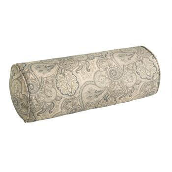 Traditions by Waverly® Paisley Indoor/Outdoor Lumbar Roll Pillow