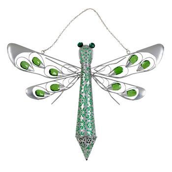16 5 X22 Solar Hanging Dragonfly Decor