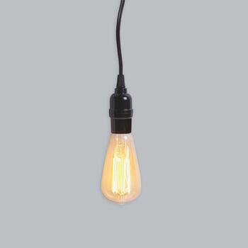 "8.5"" Traditional Edison Pendant Light"