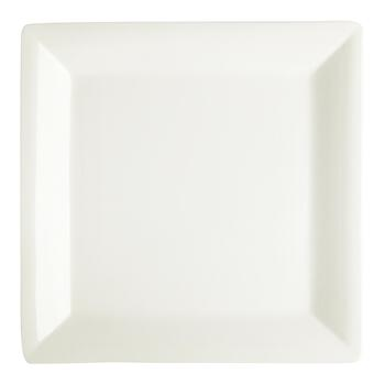 "15.75"" White Square Serving Platter view 2"