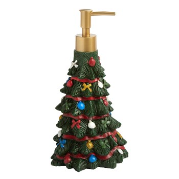 Christmas Tree Pump Top Lotion Dispenser