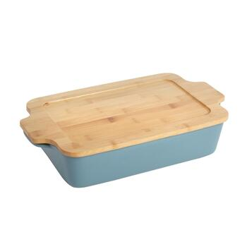 The Grainhouse™ Ceramic Baker with Bamboo Lid