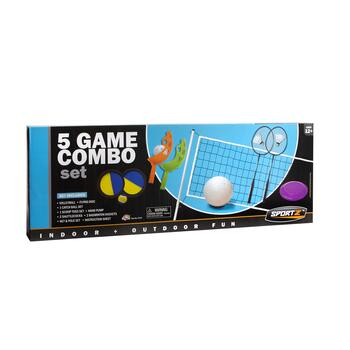 Sport Z™ 5-Game Backyard Activity Set