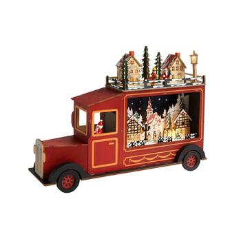 Winter Village LED Truck Decor