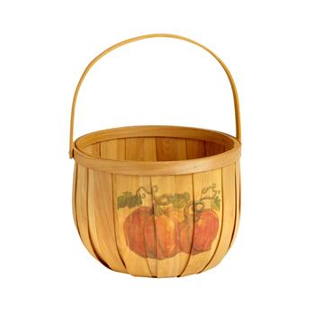 Pumpkin Farm Bushel Basket