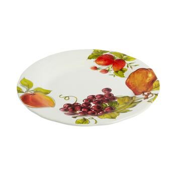 "Tuscan Table 15.5"" Fruit Jumbo Plate"