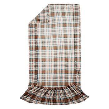 Modern Impressions™ Plaid Plush Throw with Foot Pocket