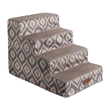 Damask Foam Pet Steps