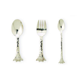 KIDS GIRAFFE FLATWARE 3PC view 1